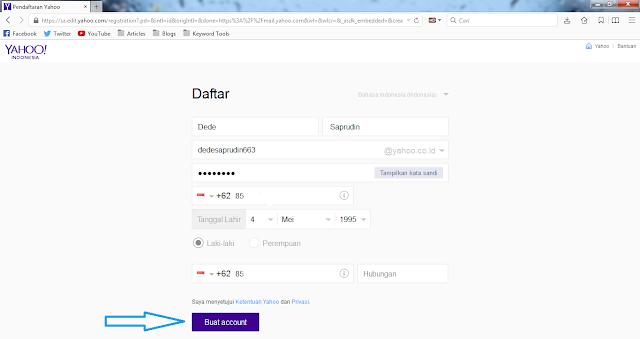 cara membuat email account