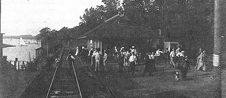 Transportation by<br>Silver Lake Railroad