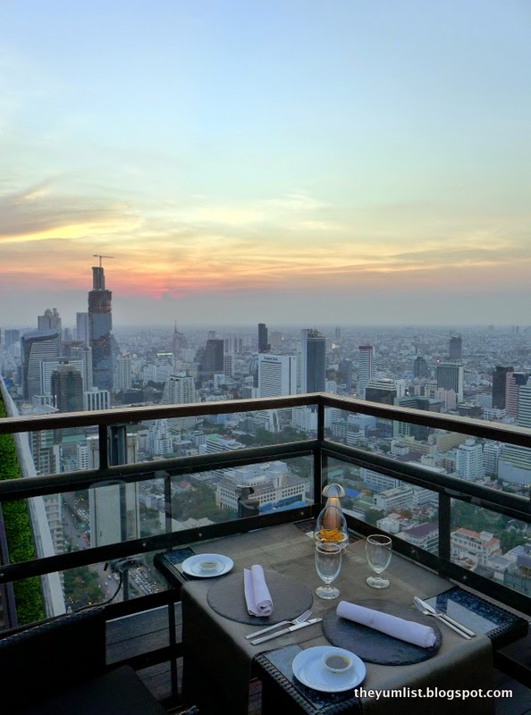 Vertigo Grill and Moon Bar, Banyan Tree Bangkok