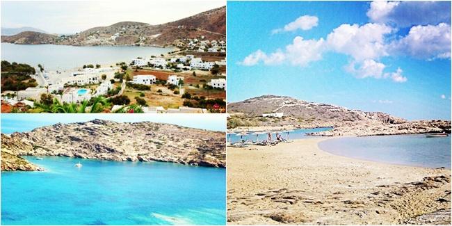 Ios island. Best Ios beaches.