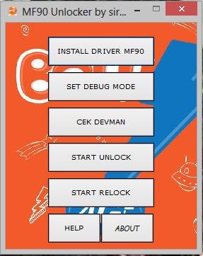cara unlock modem bolt mf90
