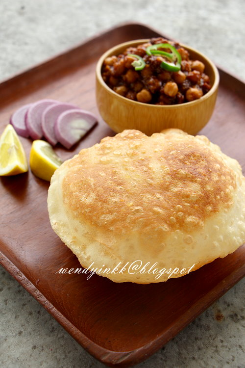 how to make bhatura video