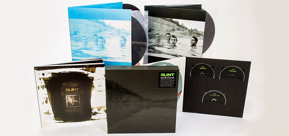 Slint 2014 US Reunion Tour & Spiderland Deluxe Box Set Pre-Order