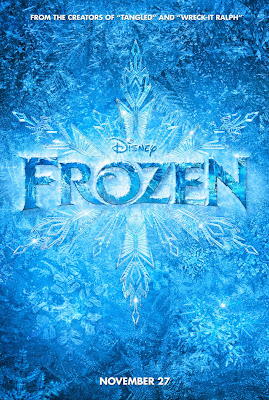 Mousey Movie Preview - Frozen's Poster showing giant snowflake