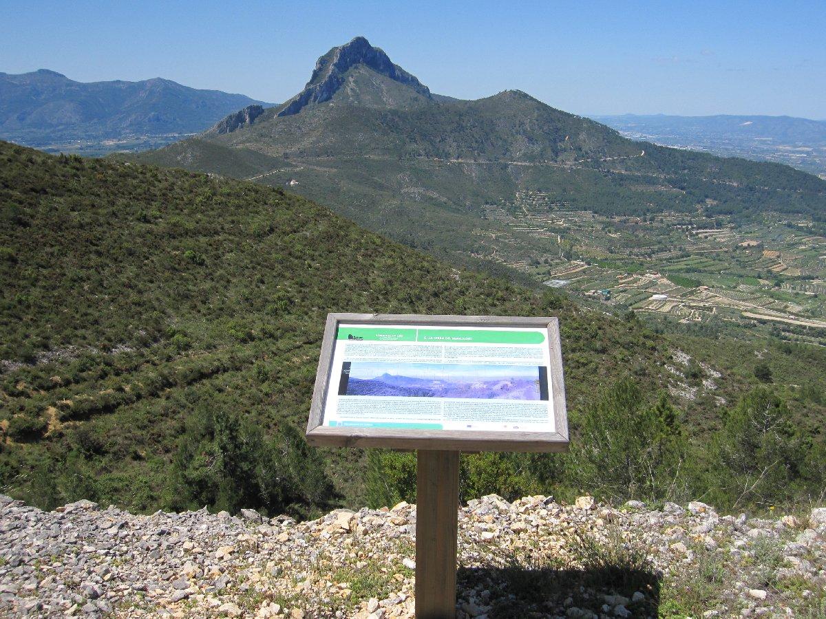 Mirador de la Foia del Benicadell