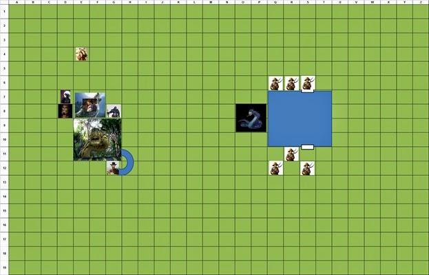 Combat Map - Turn 5
