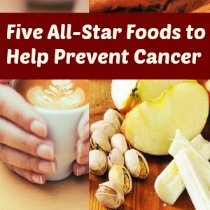 Five Foods to Help Prevent Cancer