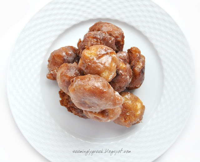 Apple fritters stack+3+4 Apple Fritters
