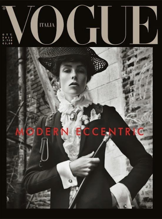 edie campbell vogue italia october 2013