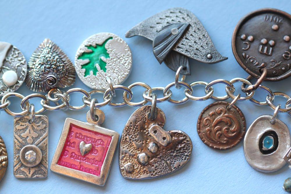 Metal Clay Artist Magazine: Etsy MetalClay's Charm Bracelet for ...