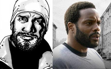 Chad Coleman sera Tyreese en The Walking Dead