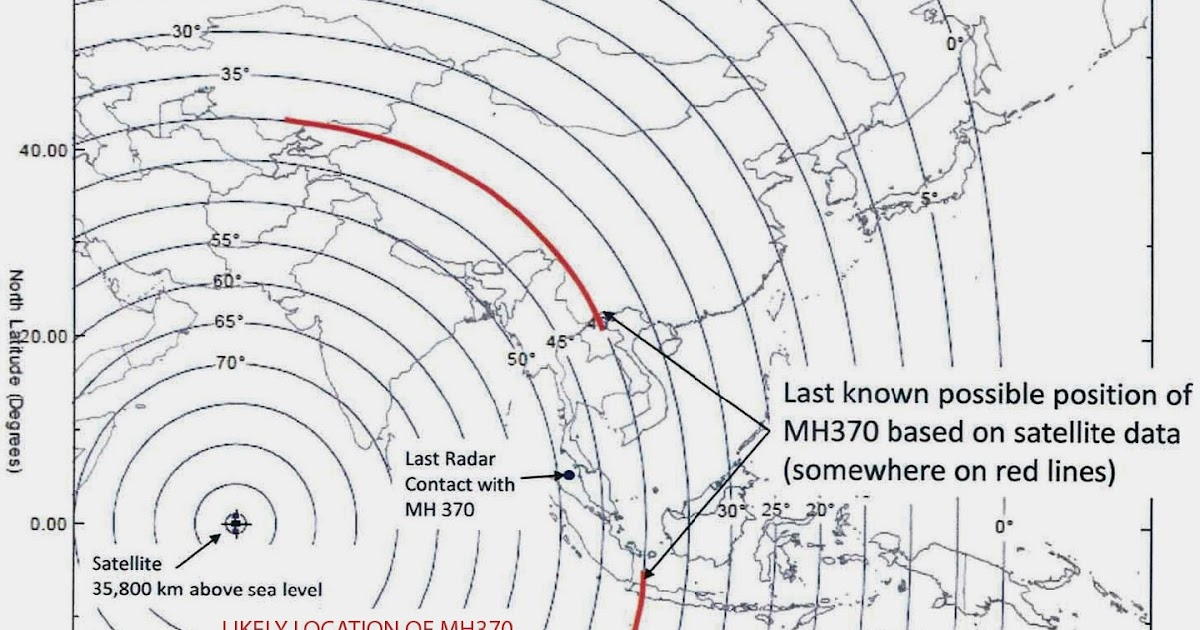 flight mh370 what happened  the location of mh370