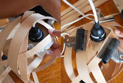 ของแต่งบ้านทำเอง: โคมไฟ DIY 6