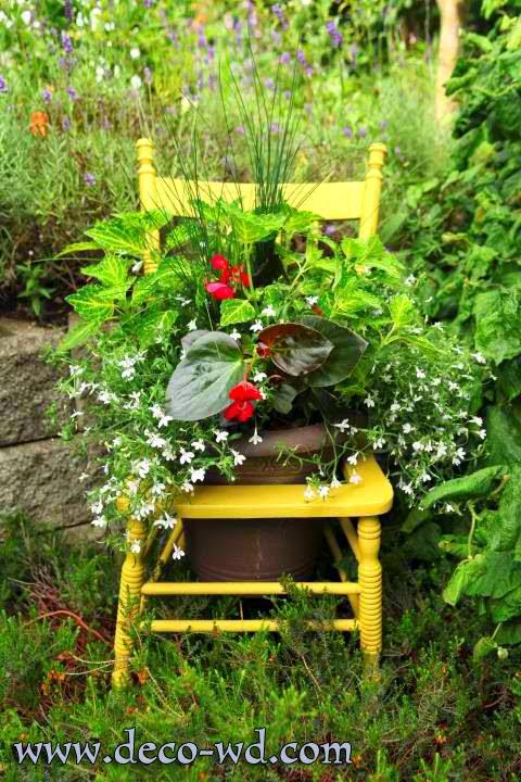 افكار لتززين حديقة منزلية