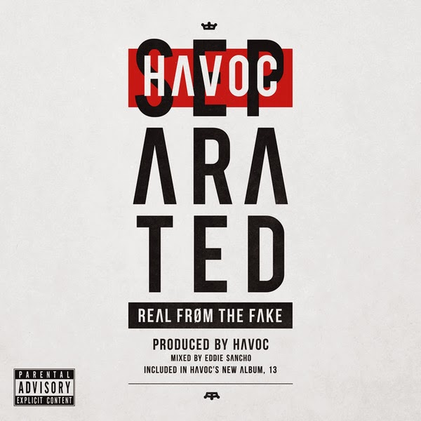 Havoc - Separated (Real from the Fake) - EP  Cover
