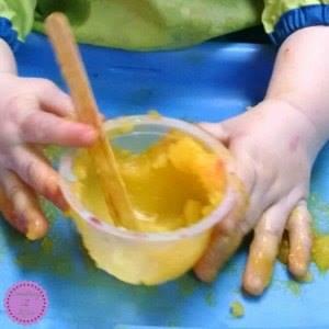 finger paint recipe for kids