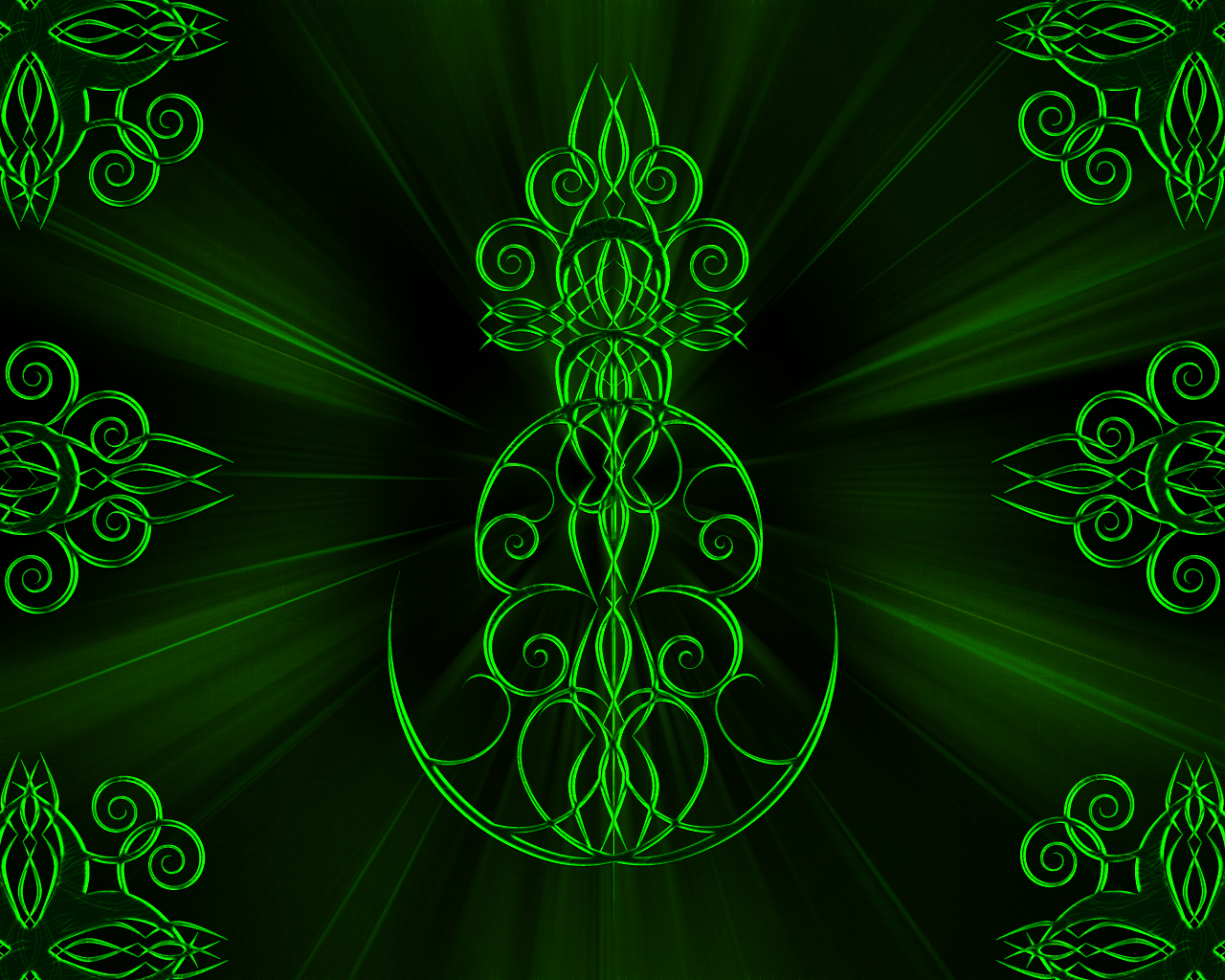 green tribal wallpapers -#main
