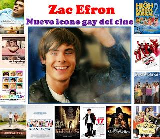 Zac Efron, nuevo icono gay del cine