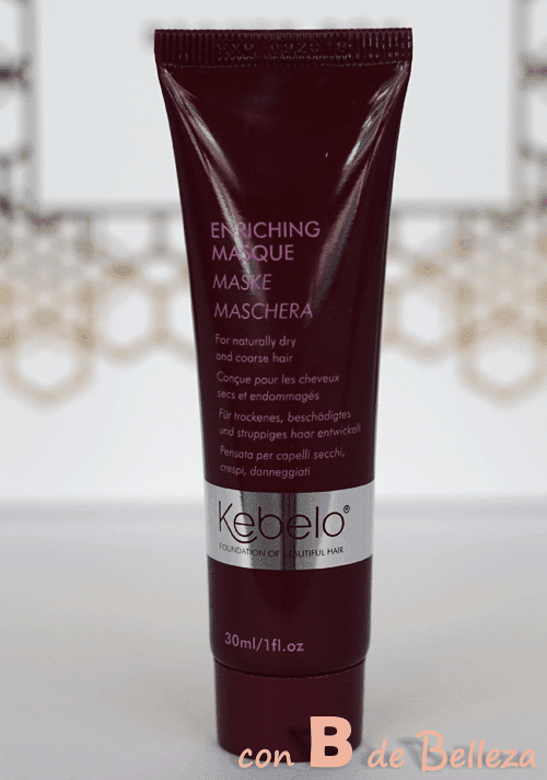 Enriching masque de Kebelo