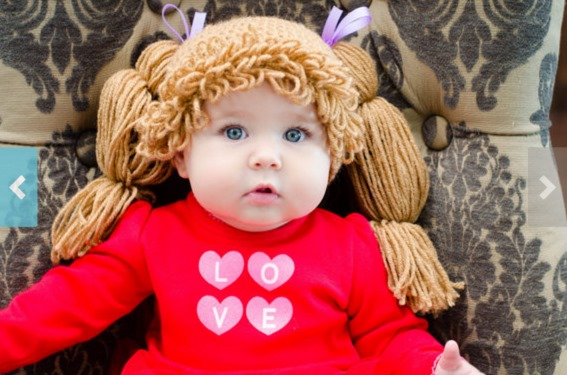 How To Make A Cabbage Patch Kid Inspired Hat Diy Craft Projects