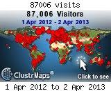 Besøg 1.4.2012 - 31.3.2013