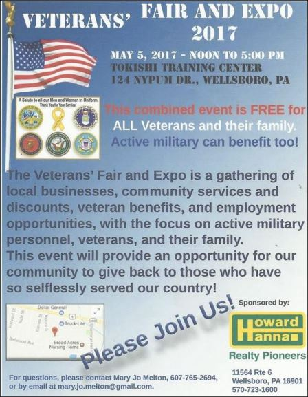 5-5 Veterans' Fair And Expo Wellsboro