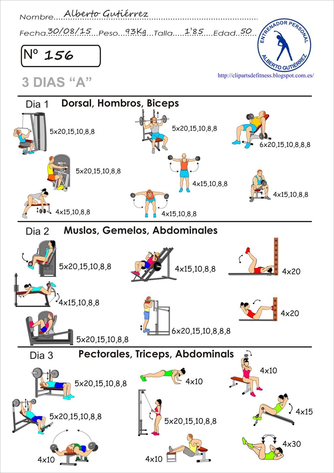 Circuito Gimnasio : Martes de circuito de retadores ta categoria asociación de