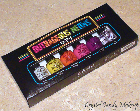 Collection Outrageous Neons d'OPI