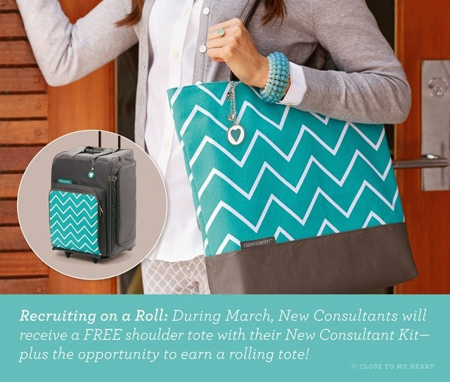 March Consultant Special - Join My Team - FREE Shoulder Tote,