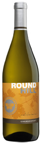 Bottle of Round Hill Chardonnay wine
