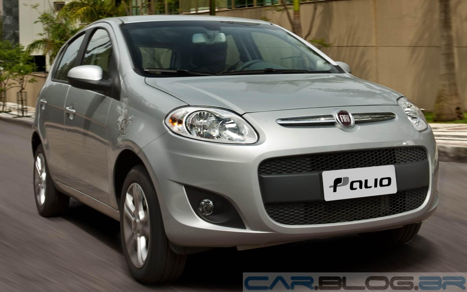 Fiat Palio - 4º mais vendido em 2014