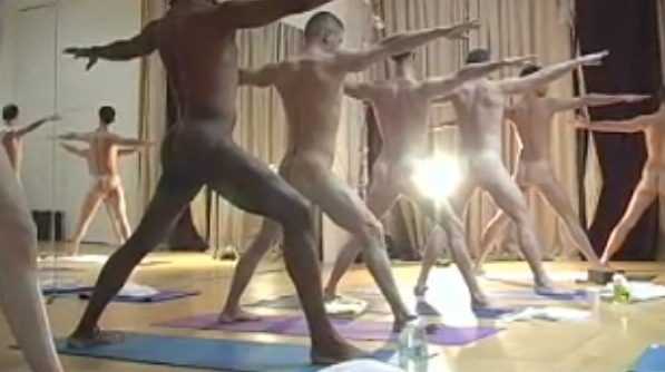 More Hot Pictures From Naked Yoga Girls Part