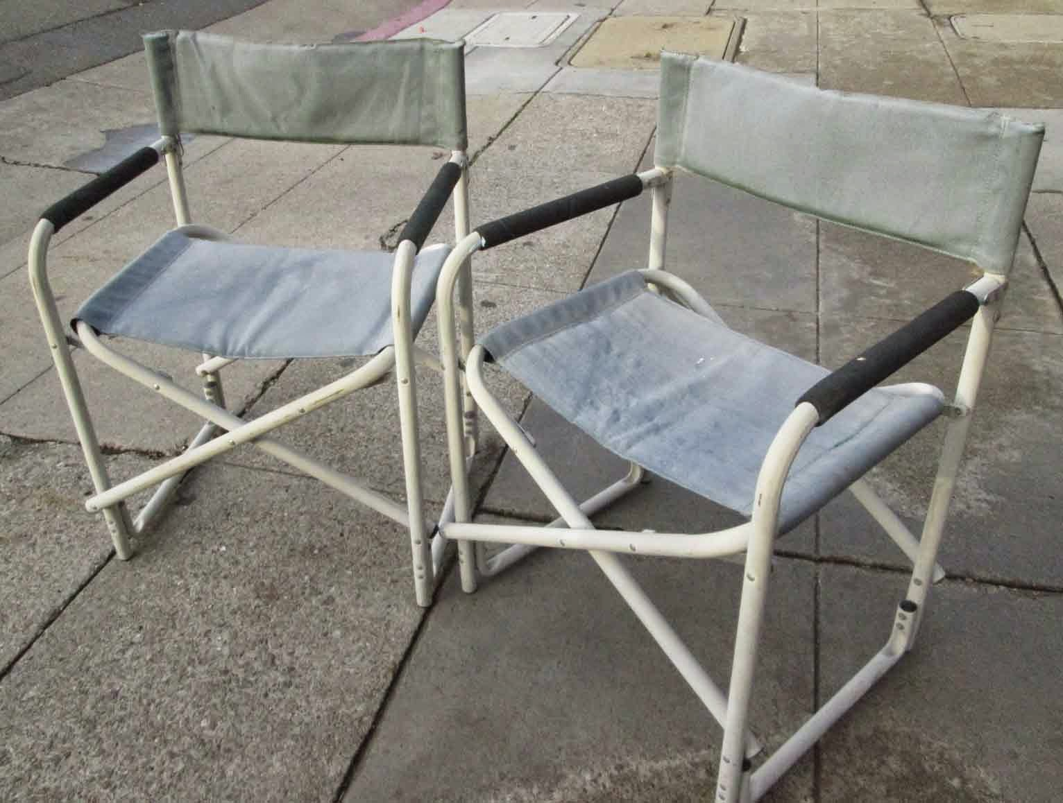 UHURU FURNITURE & COLLECTIBLES SOLD Fold Up Camping Chairs $5 each