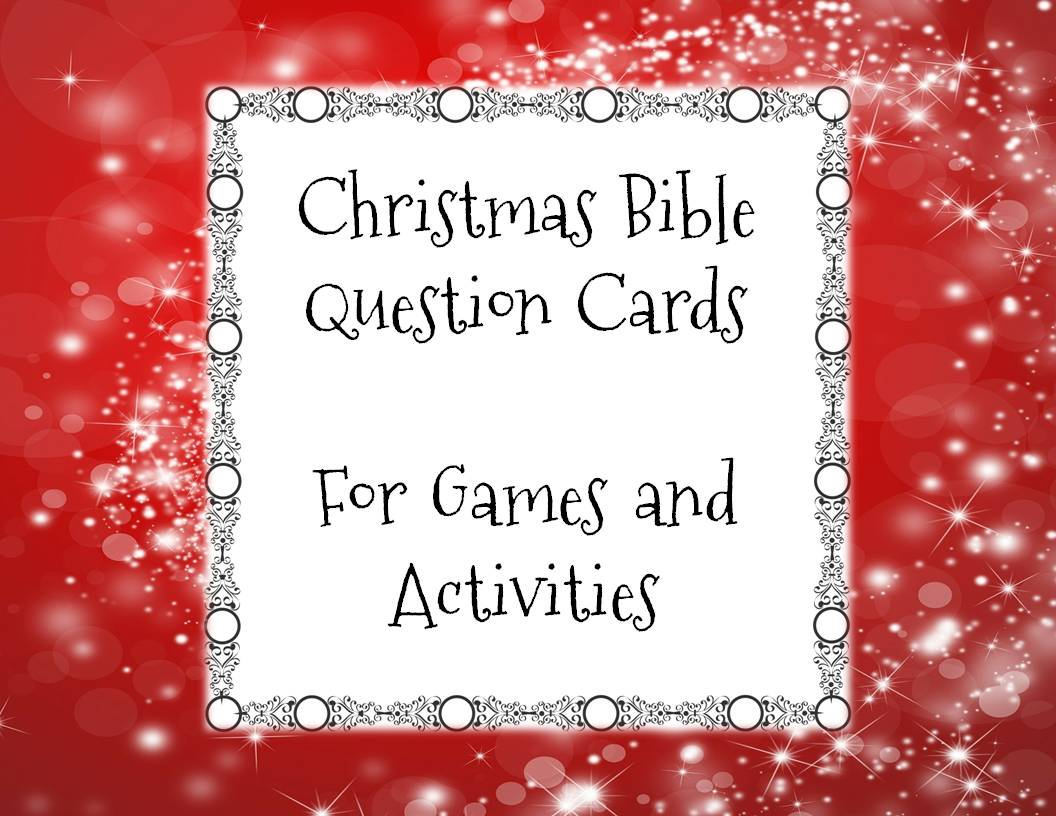 Free Printable Christmas Bible Quiz Questions - drive ...
