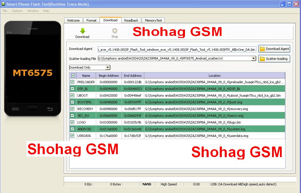 Sp Flash Tool All Bangladesh Sim Free Net Trick