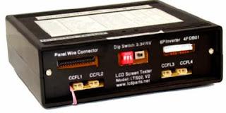 Probador o tester de display LCD