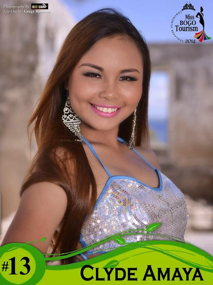 Clyde Amaya  - Miss Bogo Tourism 2014