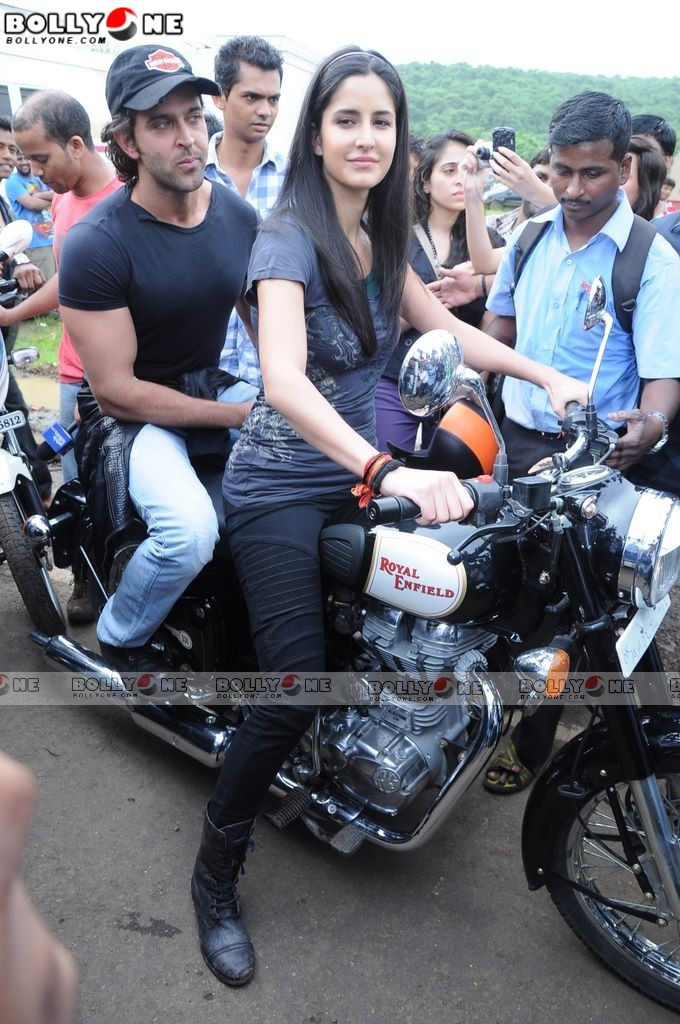 Katrina Kaif Bike Ride Pics