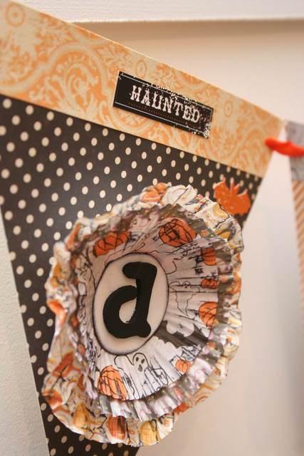 unique halloween 2011: paper halloween banner