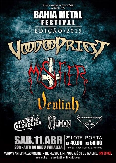 11-04-2015 - BAHIA METAL FESTIVAL - Salvador - BA