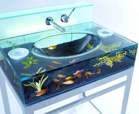 Fish and aquarium blog 9 cool home aquariums - Pictures of cool fish tanks ...