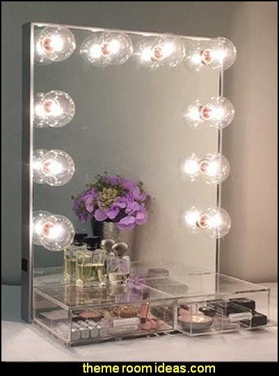 Hollywood Crystal Vanity Mirror