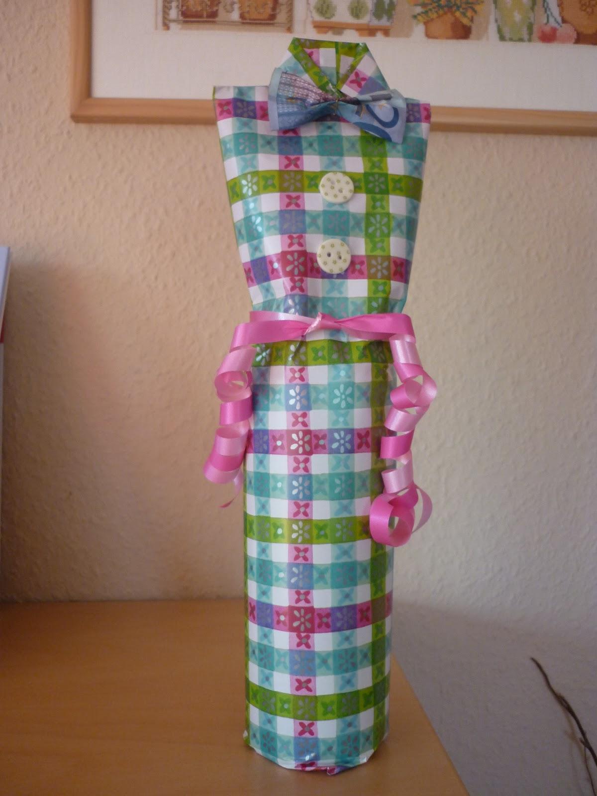 Weinflaschen Als Geschenk Verpacken