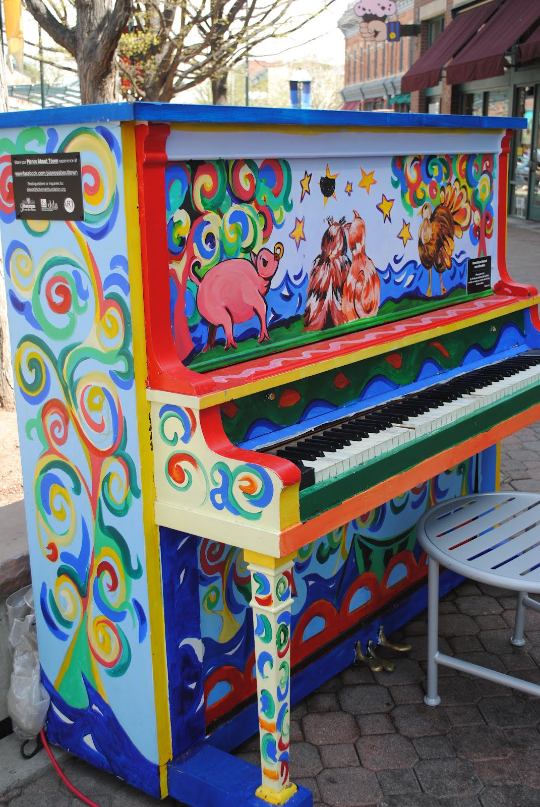 Choice city native p painted pianos for Cool life paint cost
