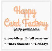 Planner & Party Printables