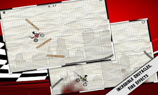 Download Stick Stunt Biker v5.1 Android QVGA HVGA WVGA HD Full