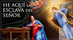 ORACIÓN EL ÁNGEL DEL SEÑOR ANUNCIO A MARÍA