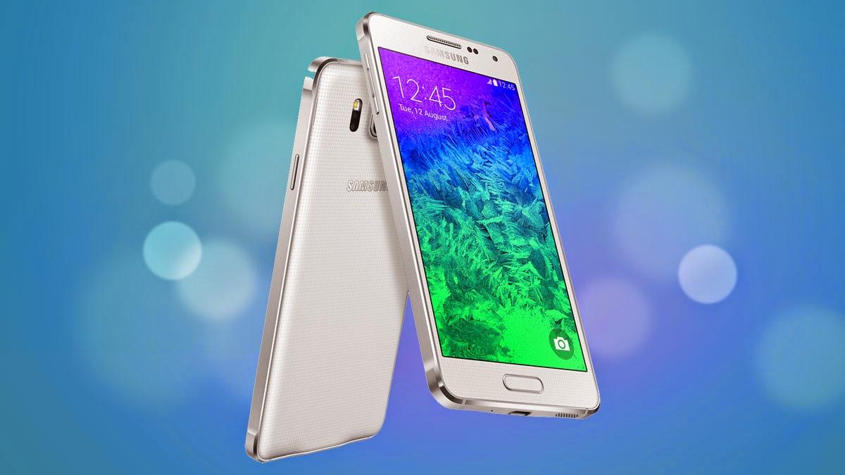Galaxy Alpha, diseño de la mano de Samsung