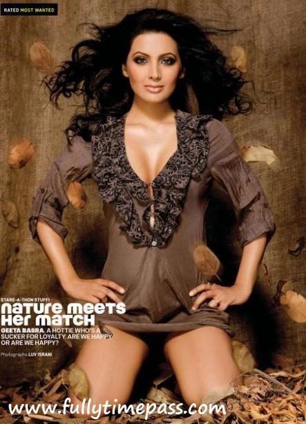 Geeta Basra - Geeta Basra HOT Maxim Pics