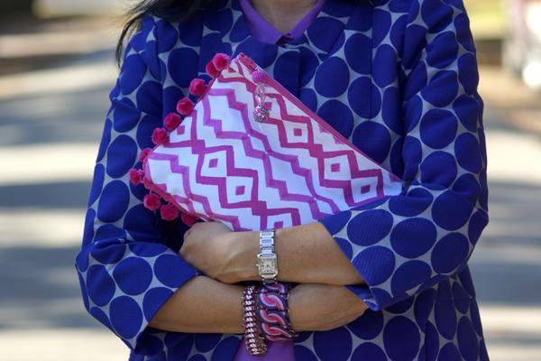 www.mimosalaneblogspot.com, pouches, pink rhombus
